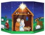 Cardboard Nativity Stand Up
