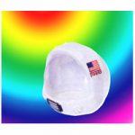 Childs White Plastic Space Helmet