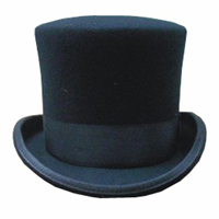 Deluxe Quality Wool Felt Top Hat