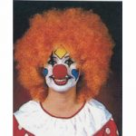 Orange Clown Wig