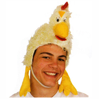 Furry Rooster Hat