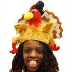 Plush Fantail Turkey Hat