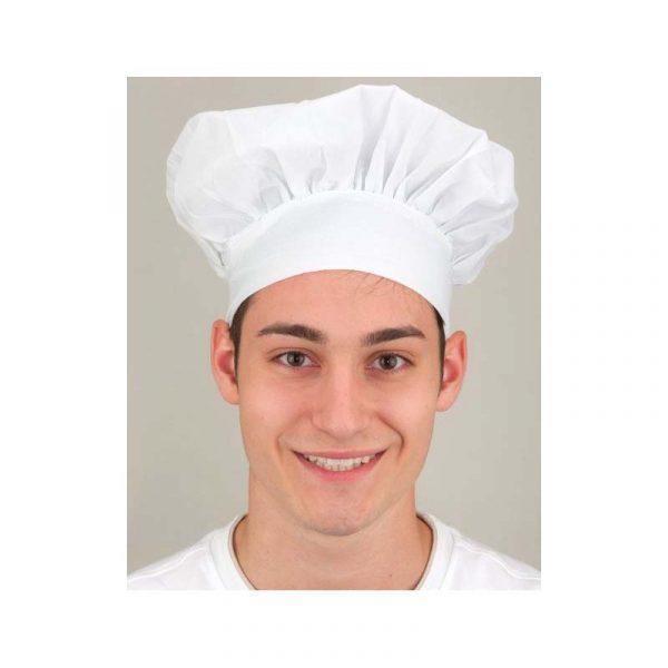 White Fabric Chef Hat