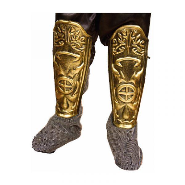 Gladiator Roman Warrior Plastic Leg Guards