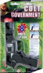 Costume Plastic Camo Colt Cap Gun