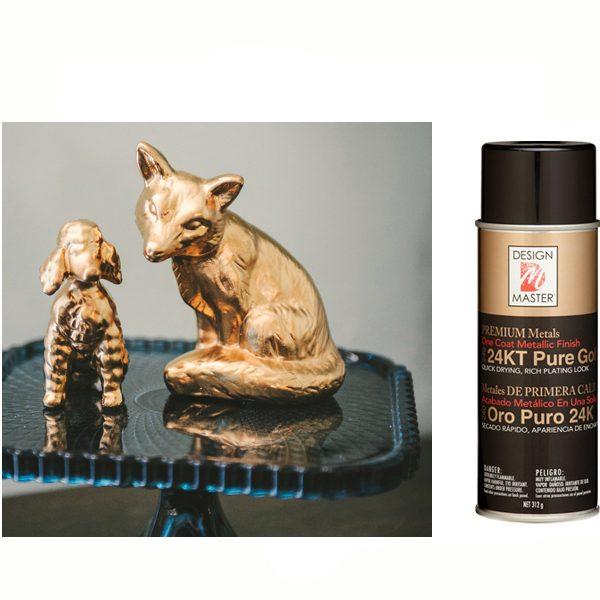 "24KT ""Pure Gold"" Design Master Spray Paint"