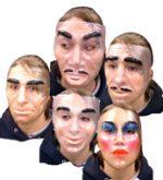 Transparent Face Masks  Asst Male and Female