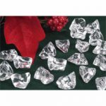 Clear Acrylic Plastic Ice Chips
