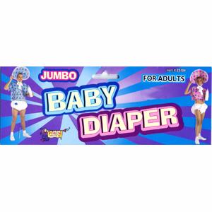 Costume Jumbo Baby Diaper for Adults