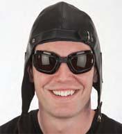 Goggles Dark lens Biker Goggles Pilot Goggles