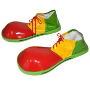 Circus Life Jumbo Clown Shoes