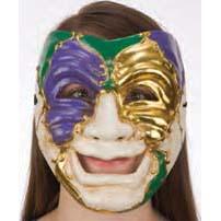 Mardi Gras Venetian Theater Mask