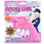 Pink Plastic Police Cap Gun