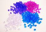 21m/m X 26m/m Acrylic Diamonds - Assorted Colors
