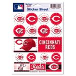 "5""X7"" Cincinnati Reds Sticker Sheet"