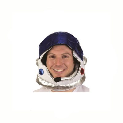 Fabric Open Face Astronaut Helmet Hat