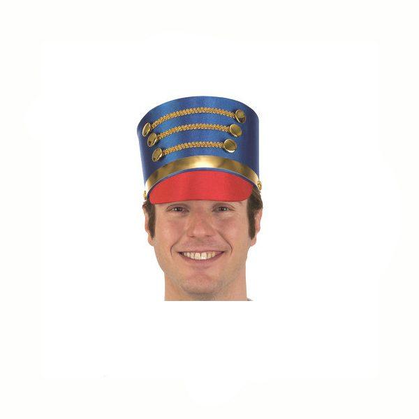 Fabric Drum Major Hat