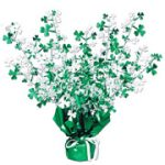 Shamrock Centerpeice - Green and White