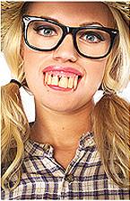 Costume Plastic Ugly Teeth