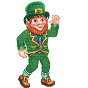 Leprechaun Cutout - Jointed