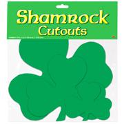 Shamrock Cutouts St. Patricks