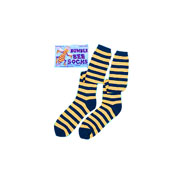 Black and Yellow Striped Bumble Bee Socks