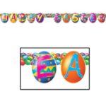 "Happy Easter ""Egg"" Banner"