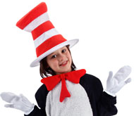 Child's Cat In The Hat Accessories Kit