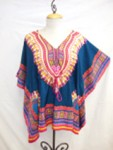 Daishiki Poncho - Assorted Colors and Prints