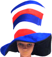 Stovepipe hat for 4th of July Patriotic Top Hat