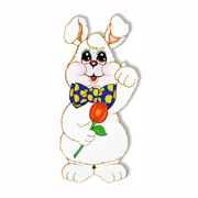 Harvey the Rabbit Jointed Cutout