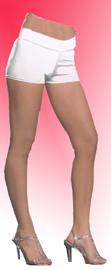Roxie Hot Shorts - White