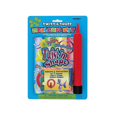Twist n Shape Balloons Kit with pump