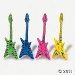 "40"" V-Shaped Rock Guitar Inflate"