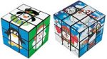 Movable Cube Puzzle: Christmas Winter Friends designs