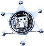 Metal Clip On Sheriff Badge