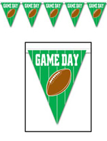 12' Game Day Football Pennant Banner