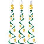 Dollar Sign Whirls