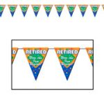 Retirement Party Pennant Banner