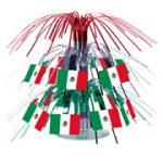 Mexican Mini Flag Centerpiece