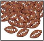 Brown Football Fanci-Fetti