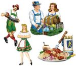 Oktoberfest and German Cutouts