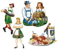 Oktoberfest and German Cutouts
