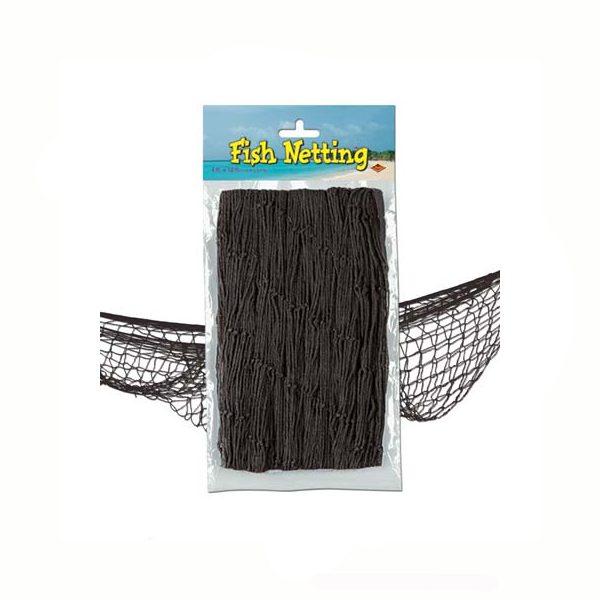 Fish net black decorative netting