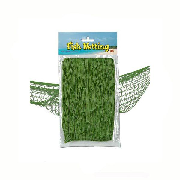 Fish net green decorative netting