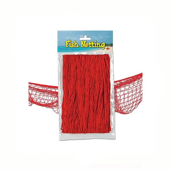 Fish net red decorative netting