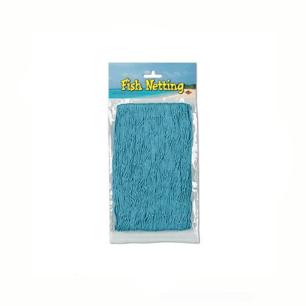 Fish net turquoise decorative netting