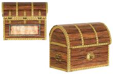 Small Cardboard Treasure Chest