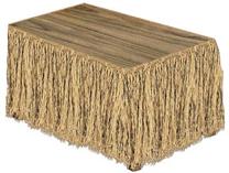 Natural Raffia Table Skirt