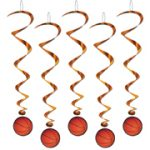 Basketball Hanging Whirls - 5 Pack